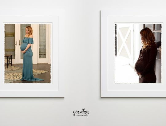 Jackson, Michigan Maternity Portraits - framed maternity portraits